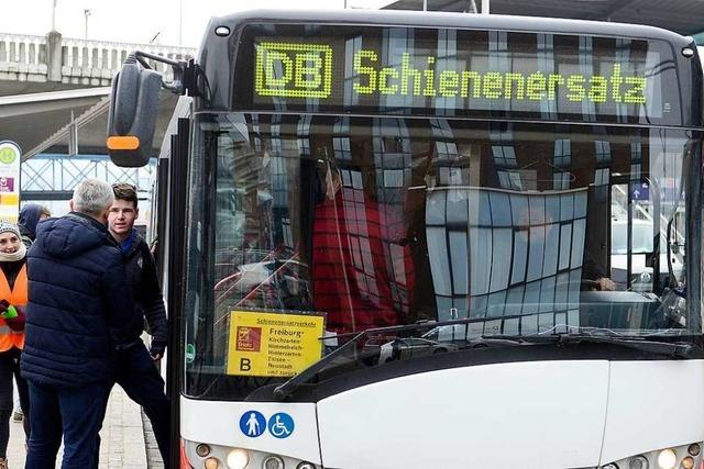 Diese drei Buslinien sollen Züge zwischen Breisach und Freiburg ersetzen