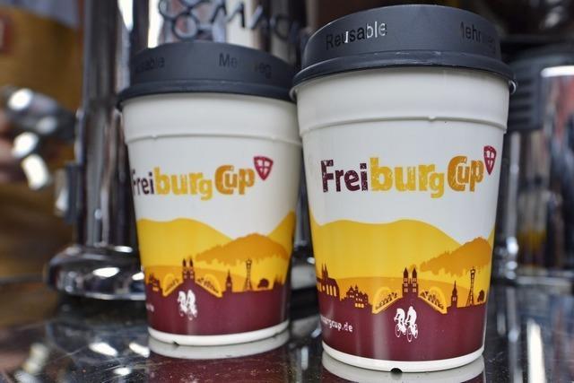 Der Freiburg-Cup hat einen neuen Look - und einen Mehrwegdeckel