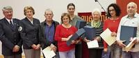 Sechs Blutspender geehrt