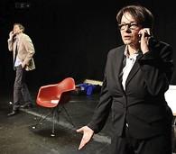 "Theaterstück ""Totalausfall"" im Ali-Theater Tiengen am Samstag, 19. Januar, thematisiert Erkrankungen am Arbeitsplatz."