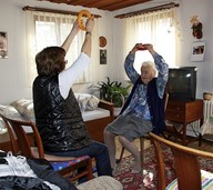 Im Alter beweglich bleiben