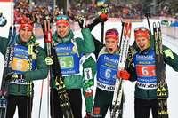 Deutsche Staffel wird Zweiter mit – mit den Schwarzwäldern Roman Rees und Benedikt Doll