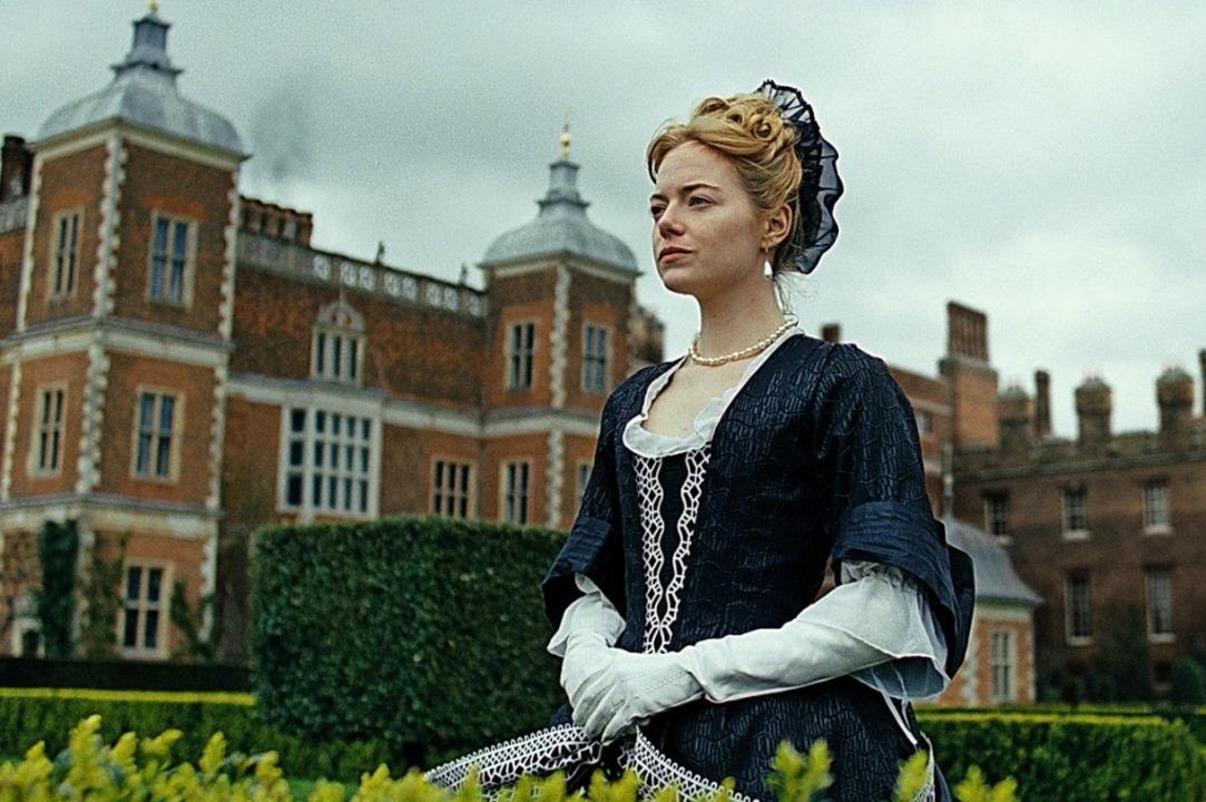 Sie mischt die Karten im Intrigenspiel...chen Hof neu: Emma Stone als Abigail.   | Foto:  PR/20th Century Fox
