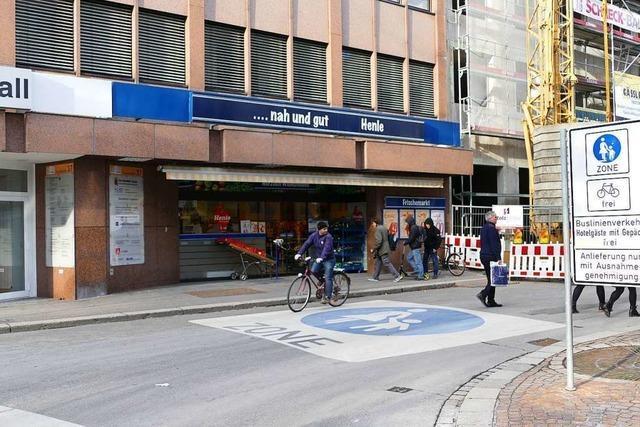 In der Lörracher Innenstadt gibt es einige Geschäftswechsel