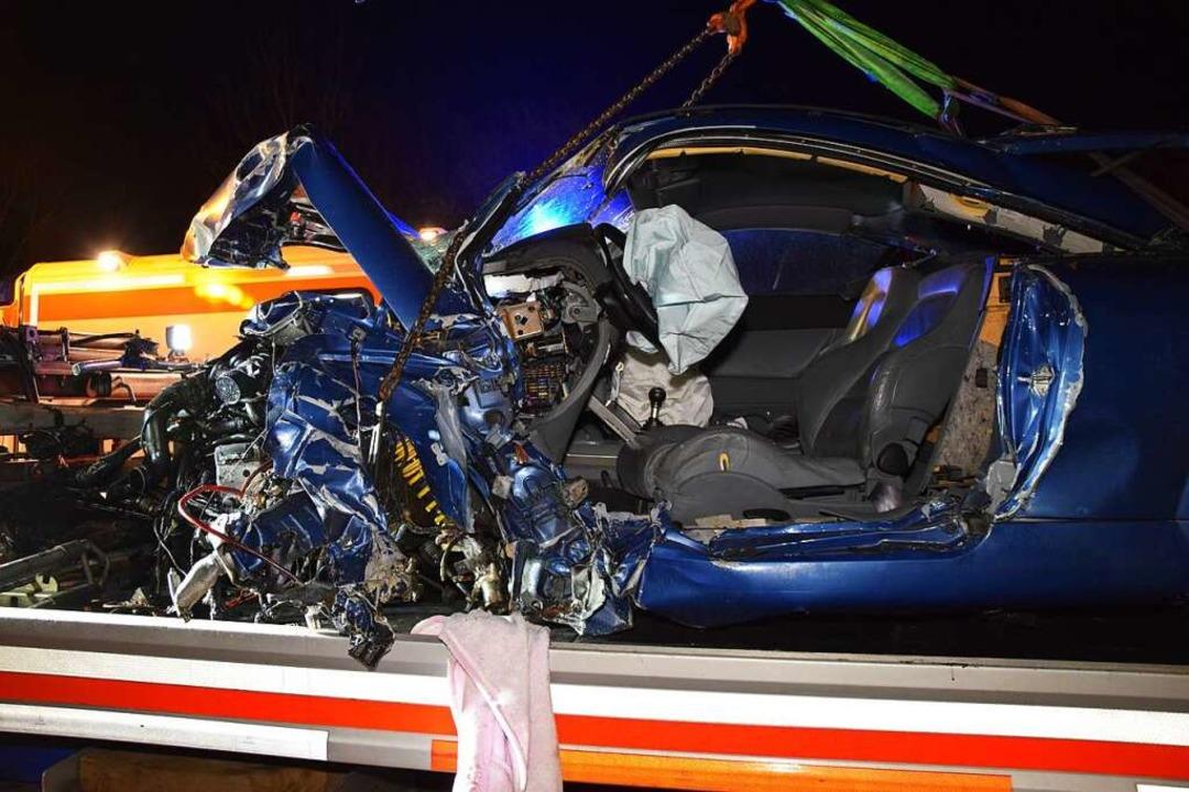 Das Auto der Unfallverursacherin.  | Foto: kamera24