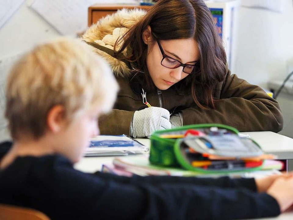 Schülerin Angelina  | Foto: Susanne Gilg