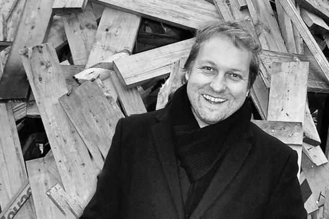Thilo Krause erhält für einen Gedichtband den Peter-Huchel-Preis