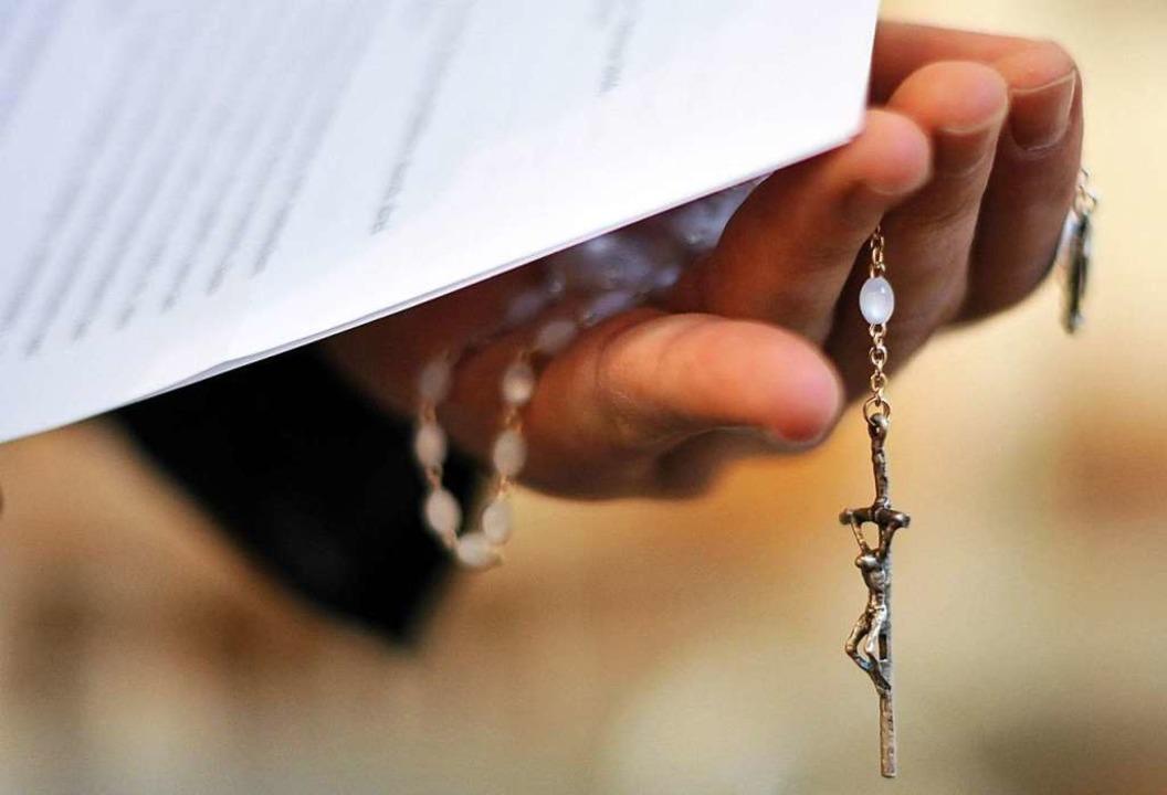 Wie groß ist der Wille der katholische...n Missbrauch vollständig aufzuklären?   | Foto: DPA/AFP
