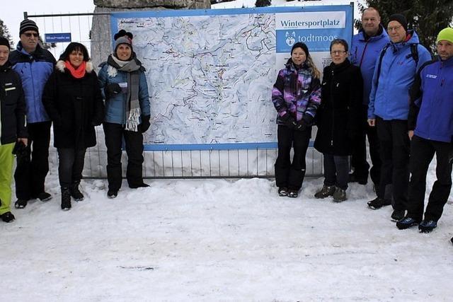 Ein Paradies für Schneeliebhaber