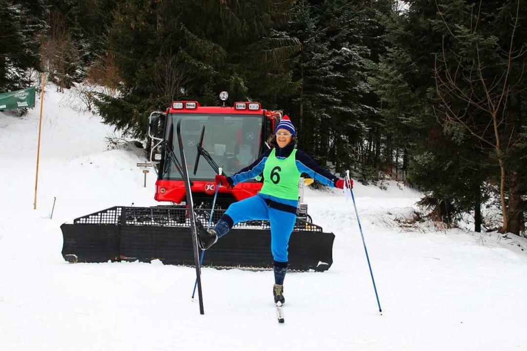 Auch Annette Hochrein vom Skiclub Mals...achte den Gleichenlauf am Sonntag mit.  | Foto: Kerstin Trefzer