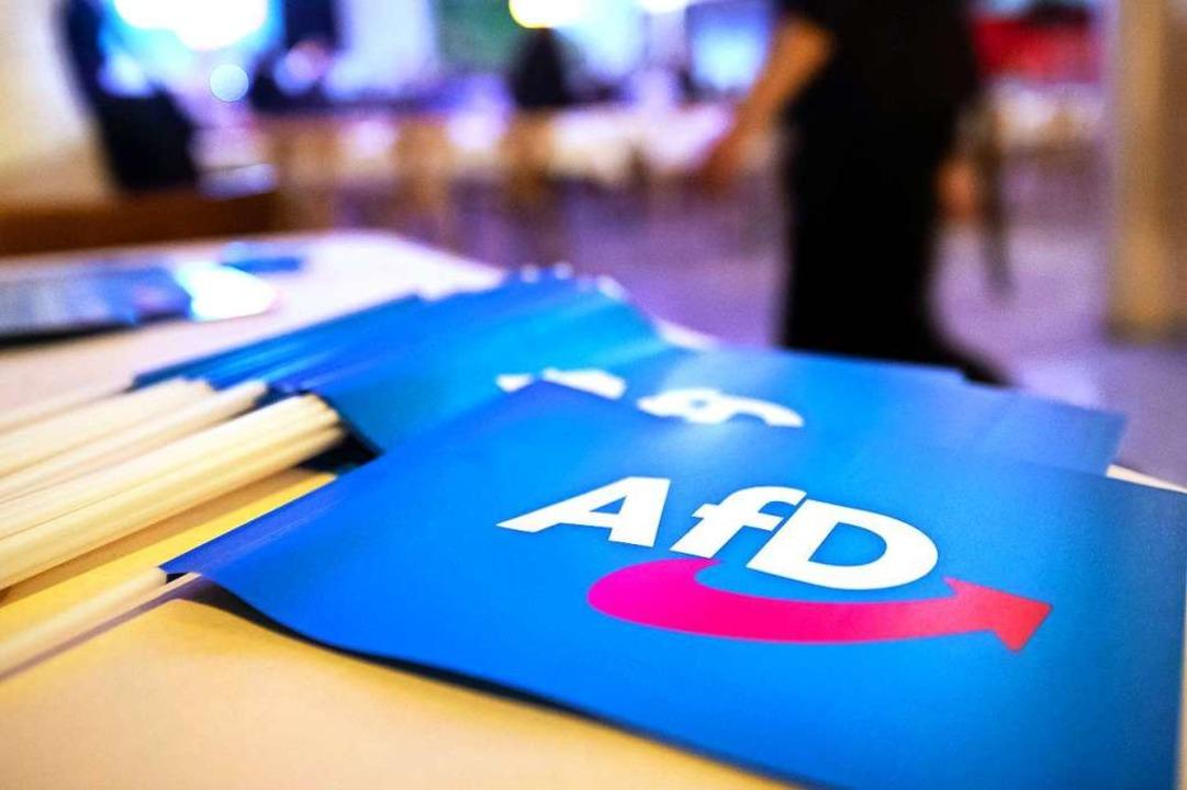 Der Kreisverband Waldshut der AfD hat ...daten für die Kreistagswahl bestücken.    Foto: dpa