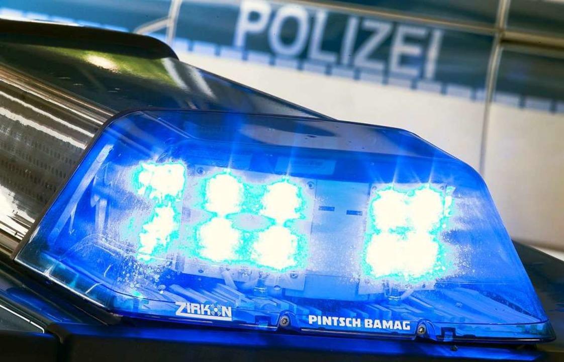 Die Polizei spricht von 3000 Euro Schaden.    Foto: Frisco Gentsch