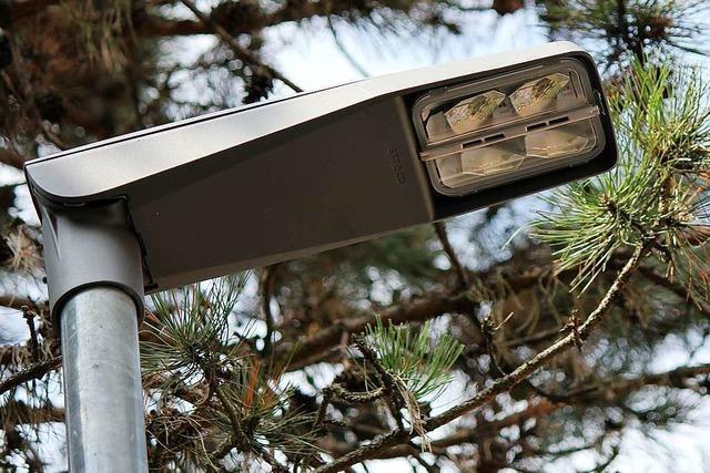Kehl rüstet Straßenlaternen auf LED um - mit Hilfe der Einwohner