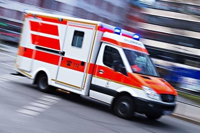 Eine neue Rettungswache am künftigen Lörracher Zentralklinikum ist