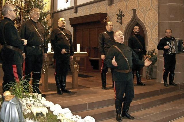 Russische Seele erfüllt Öflinger Kirche