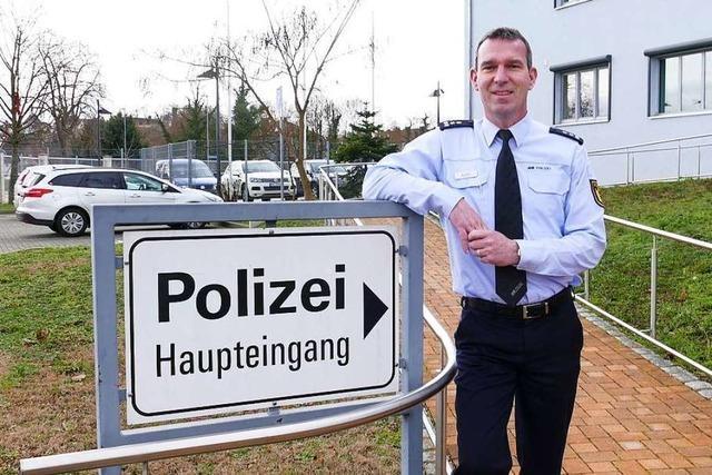Joachim Adler ist neuer stellvertretender Leiter des Breisacher Polizeireviers