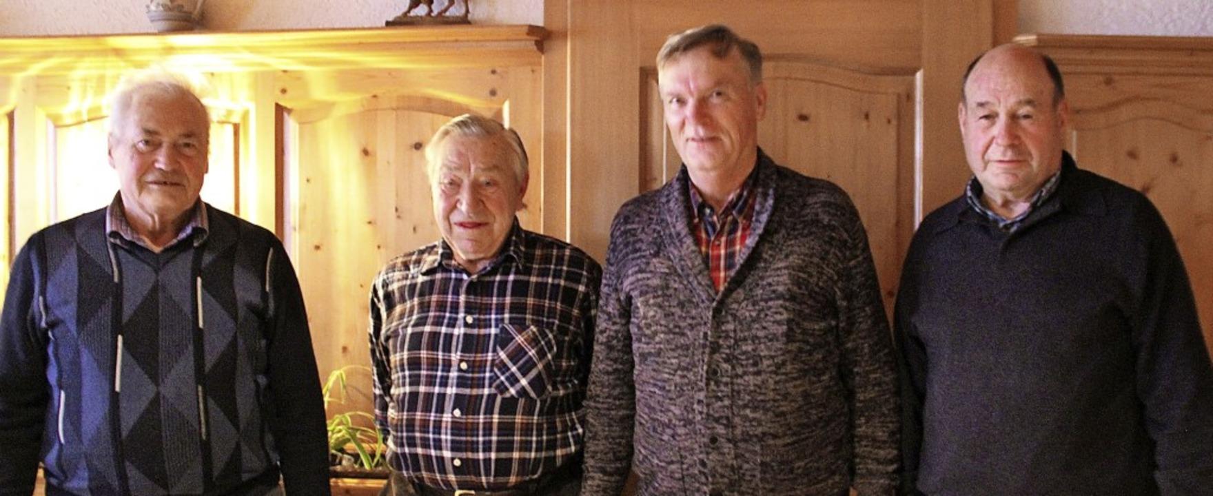 Sie werden die Seniorengemeinschaft St...der) und Hermann Majocko (Kassierer).     Foto: Lucia van Kreuningen
