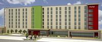 Hotelneubau mit 216 Zimmern