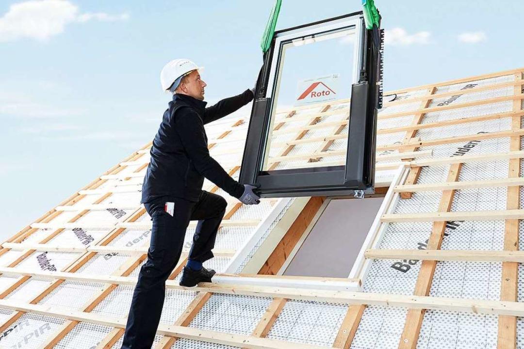 Mit einem neuen Programm will die Stad...n Einsatz von Holz am Bau. Symbolbild.  | Foto: PR / Roto
