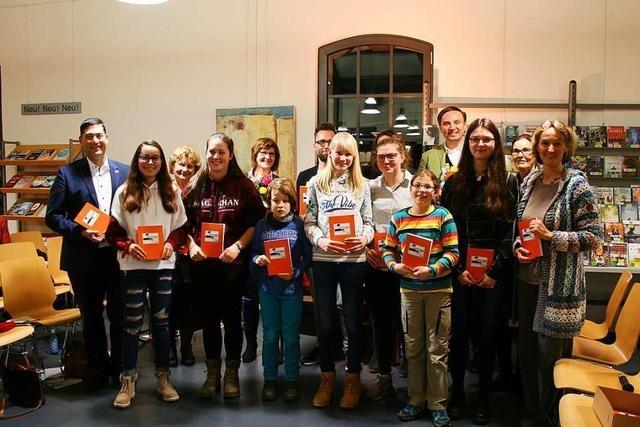 Am Denzlinger Schreibwettbewerb beteiligten sich 57 Schülerinnen und Schüler