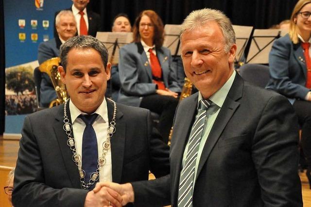 Schopfheims neuer Bürgermeister Dirk Harscher will gemeinsam Verantwortung übernehmen