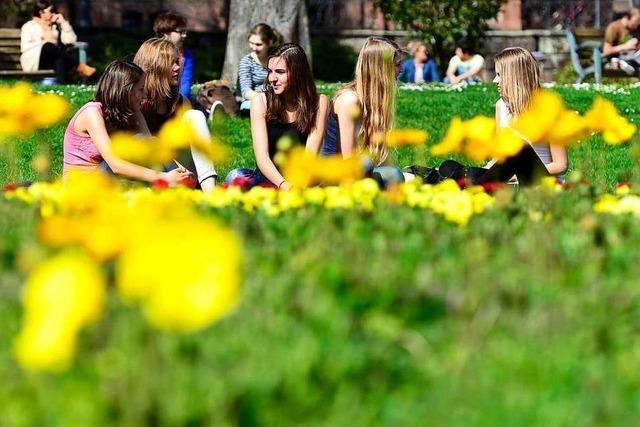 Der Colombipark ist eine grüne Oase mit Zukunft