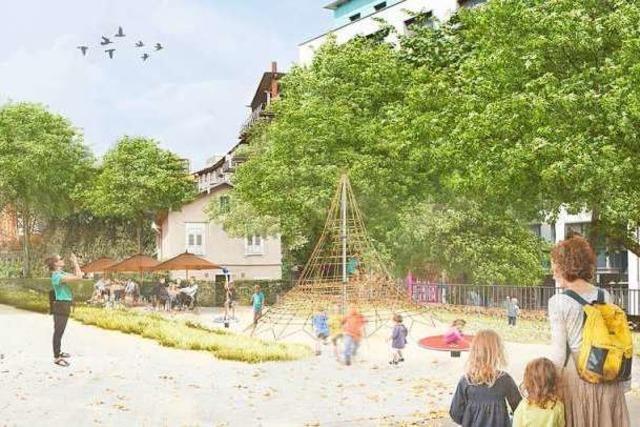 Stadt Freiburg will den Colombipark für 2,5 Millionen Euro umgestalten