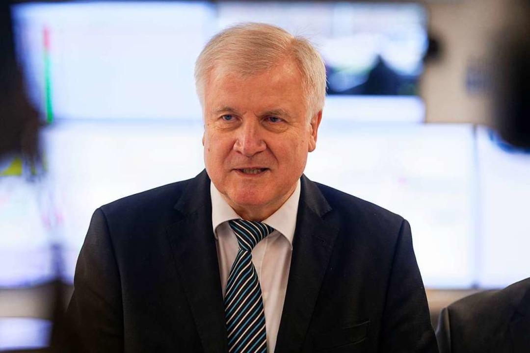 Innenminister Horst Seehofer  | Foto: dpa