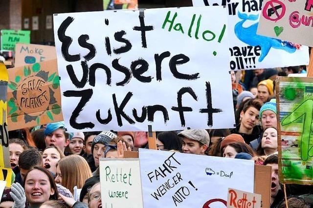 Freiburger und Offenburger Schüler fahren zum Klimastreik nach Berlin