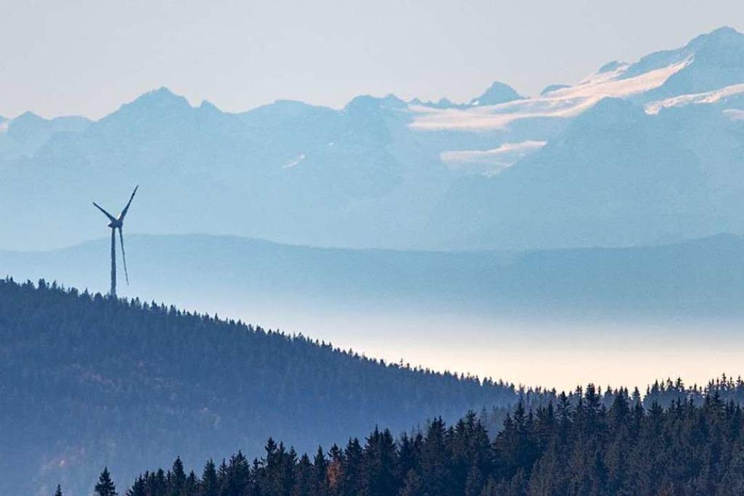 Ende 2018 produzierten 720 Windräder in Baden-Württemberg Strom.  | Foto: dpa