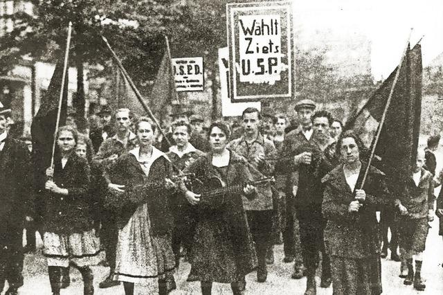 Frauenwahlrecht erst seit 1919