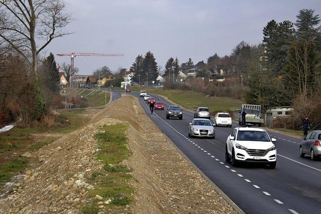Grenzach-Wyhlen: Vielen fehlt Licht entlang der neuen Bundesstraße