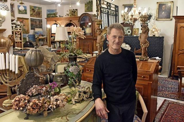 Seit 50 Jahren verkauft die Galleria d'Arte Casana Antiquitäten, Silberwaren und Schmuck