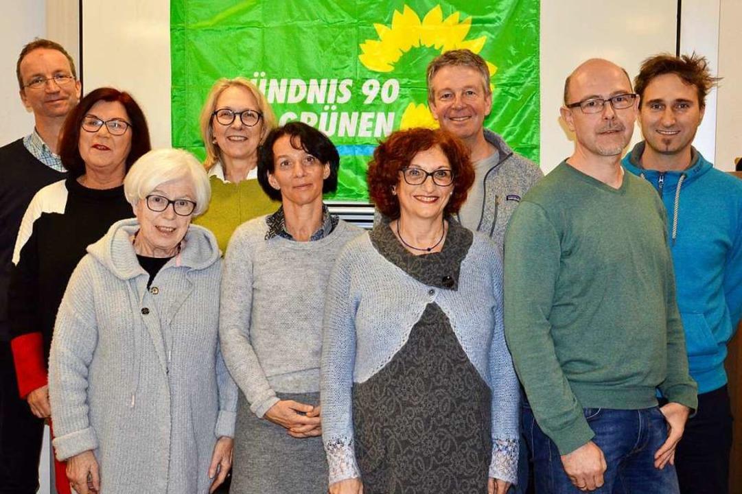 Kandidieren auf der Liste der Grünen (...ert,  Thomas Klumpp und  Daniel Mader     Foto: Hirt