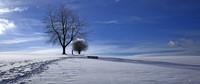 Weiße Landschaften