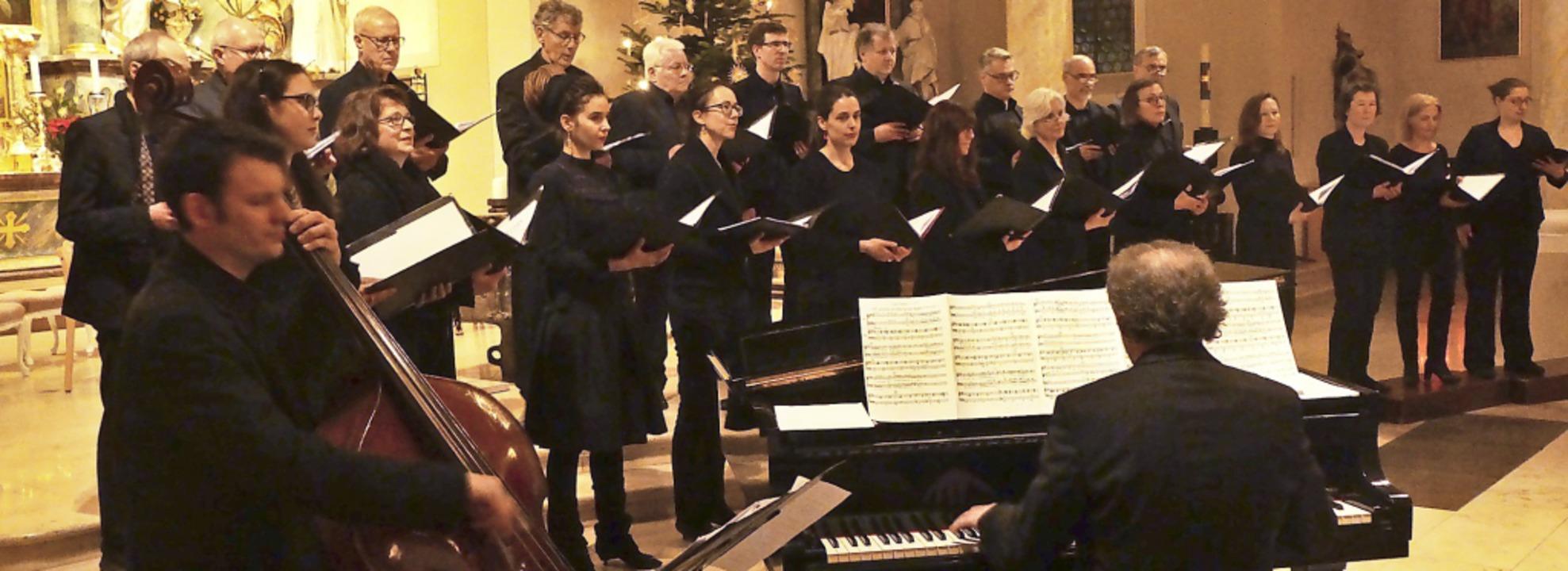 In St. Alban in Bad Krozingen gab es e...wingten Nachklang zur  Weihnachtszeit.  | Foto: Anne Freyer