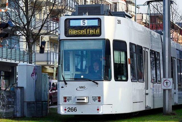 In Freiburgs Westen wäre der Ringschluss der Tram jetzt nun doch möglich