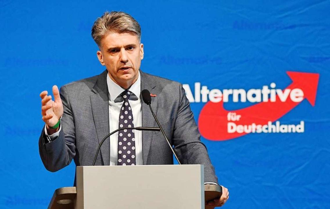 Marc Jongen ist Bundestagsabgeordneter und AfD-Landesvorsitzender   | Foto: dpa