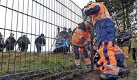 Dänen bauen Grenzzaun zu Deutschland