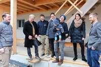 Die ersten Mieter beziehen ihre Wohnungen im Ursulinenhof in Oberried