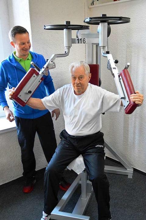 Dieser Schopfheimer Geht Noch Mit 88 Regelmäßig Ins Fitnessstudio