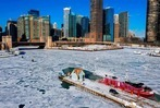 Fotos: Historische Kältewelle in den USA
