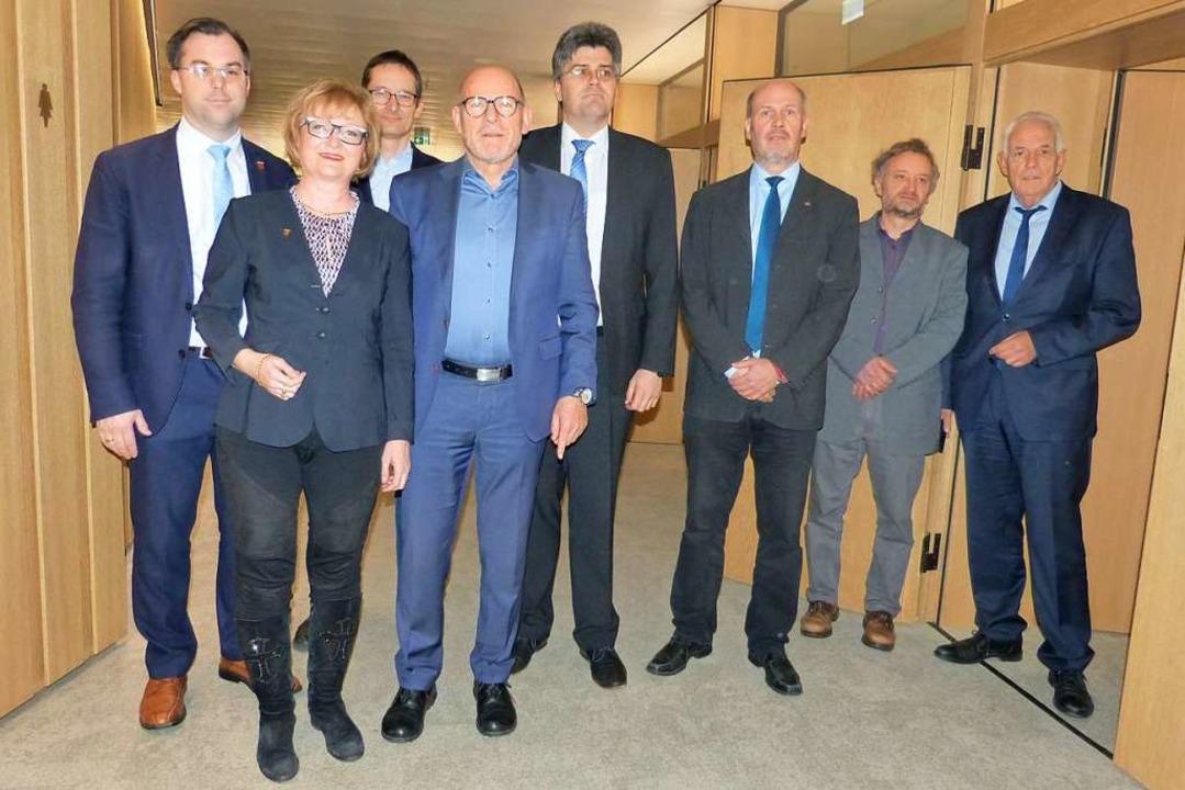 Diskutierten die Zukunft der Abfahrt H...ar Schlageter und Rainer Stickelberger    Foto: Privat