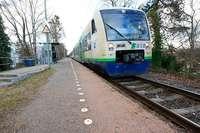Von heute an fahren zwischen Freiburg und Breisach nur Busse