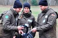 Ranger im Landschaftspark Wiese nehmen die Arbeit auf