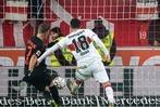 Fotos: Der SC Freiburg sichert sich beim VfB einen Punkt