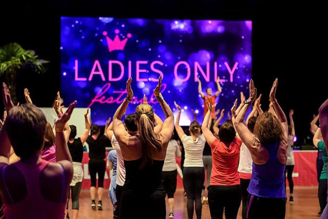 Bewegungsfreude beim Ladies Only Festival    Foto: V. Behringer