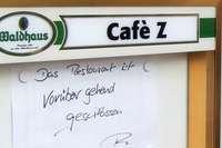 Bad Krozinger Kult-Café Z schon wieder geschlossen