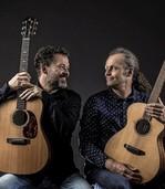 Die Brüder Coco und Lorenz Buchholz musizieren seit über 40 Jahren gemeinsam