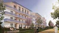 Rolf Disch stellt Plusenergie-Klimahaus-Wohnprojekt in Schallstadt vor